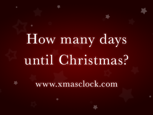 Christmas 2020 Clock Countdown Christmas Countdown 2020   Find out how many days until Christmas 2020